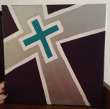 Fragile X Cross painting